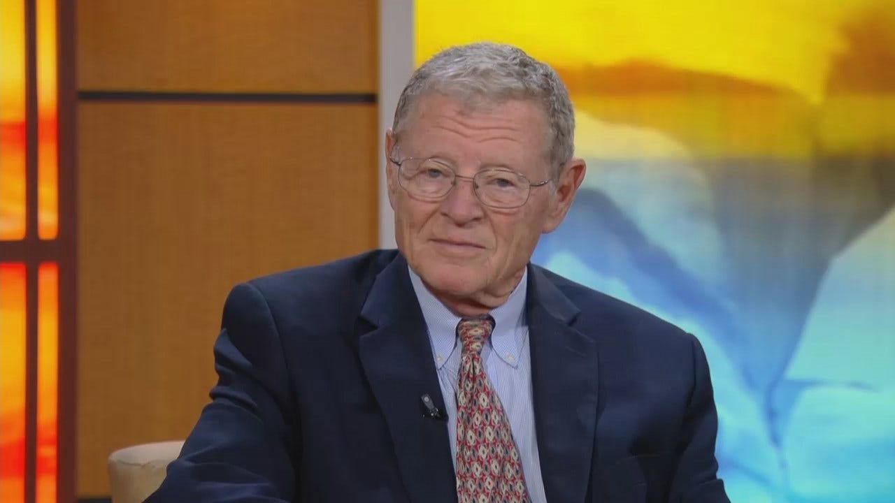 Senator Jim Inhofe Talks Syria, More With News On 6