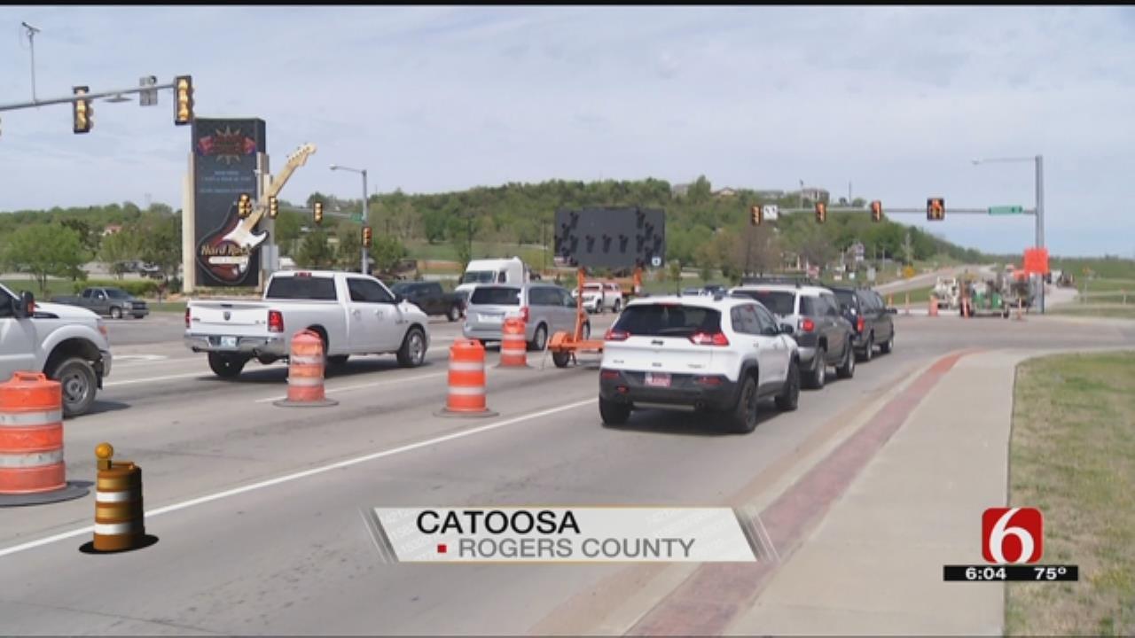 ODOT Begins Highway Resurfacing Project In Catoosa