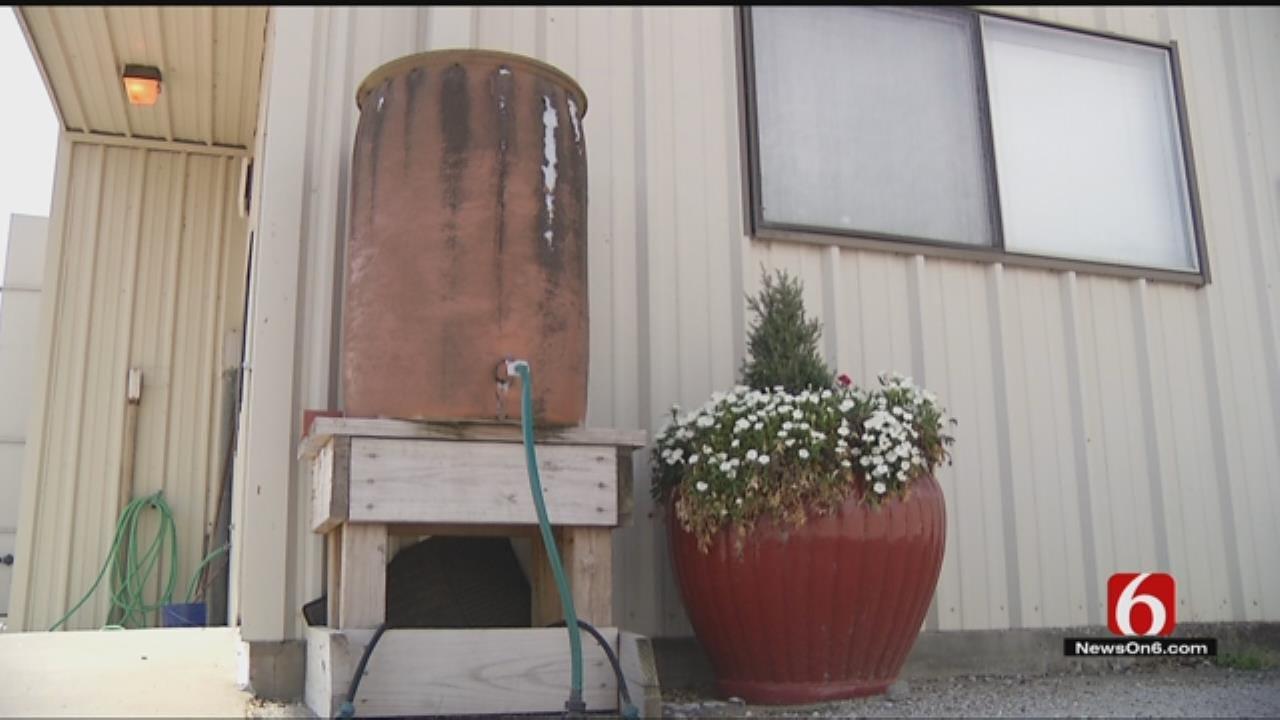 City Of Tulsa's Rain Barrel Program Aims To Keep Streams Clean