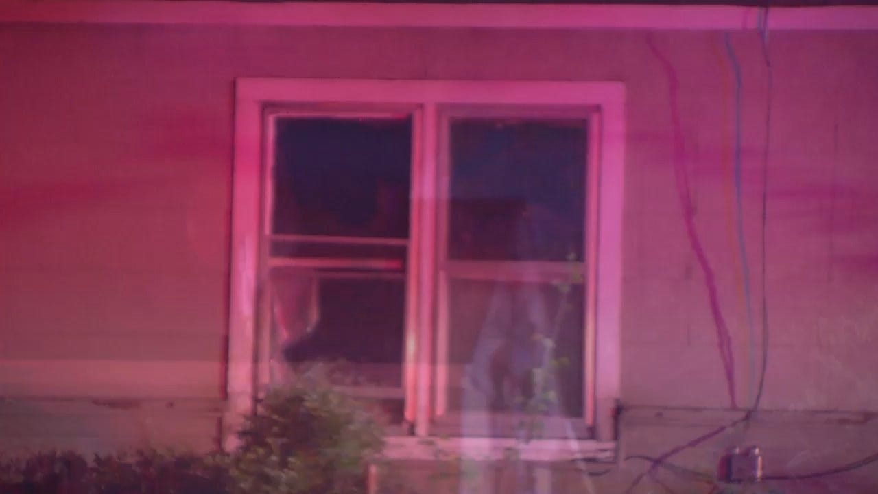 WEB EXTRA: Video From West Tulsa House Fire
