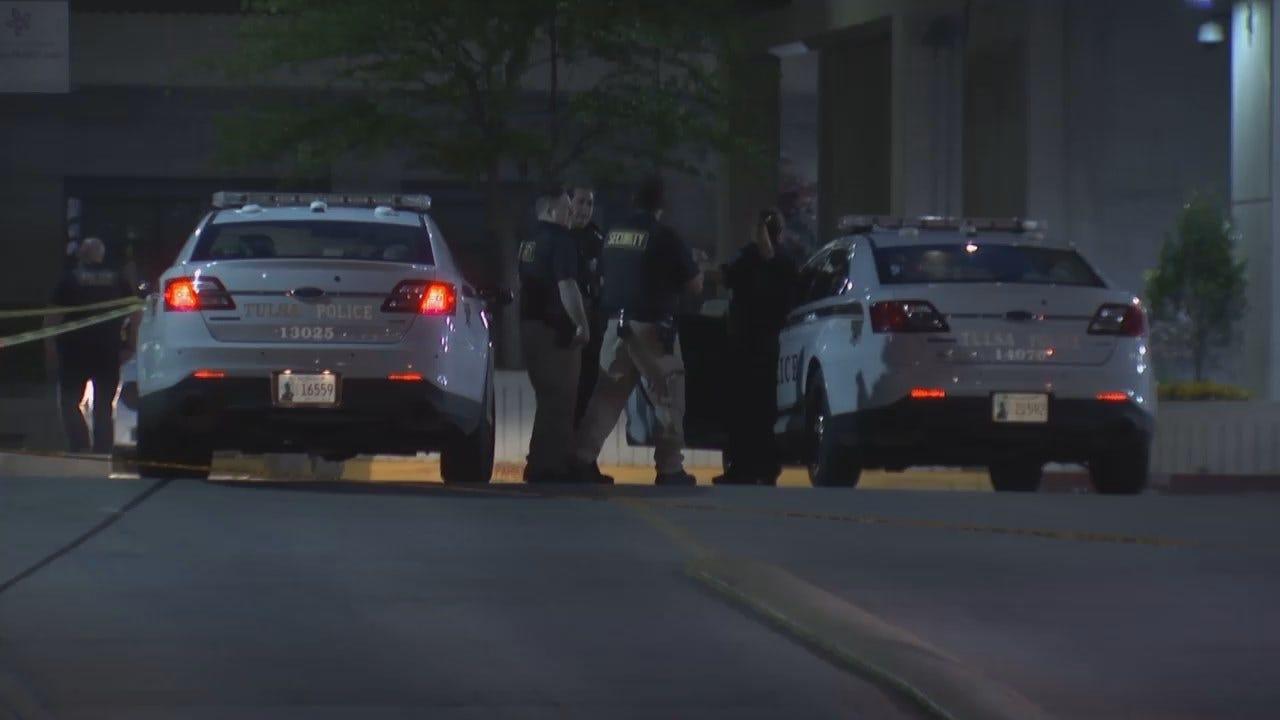 WEB EXTRA: Video From Scene Outside Hillcrest Medical Center