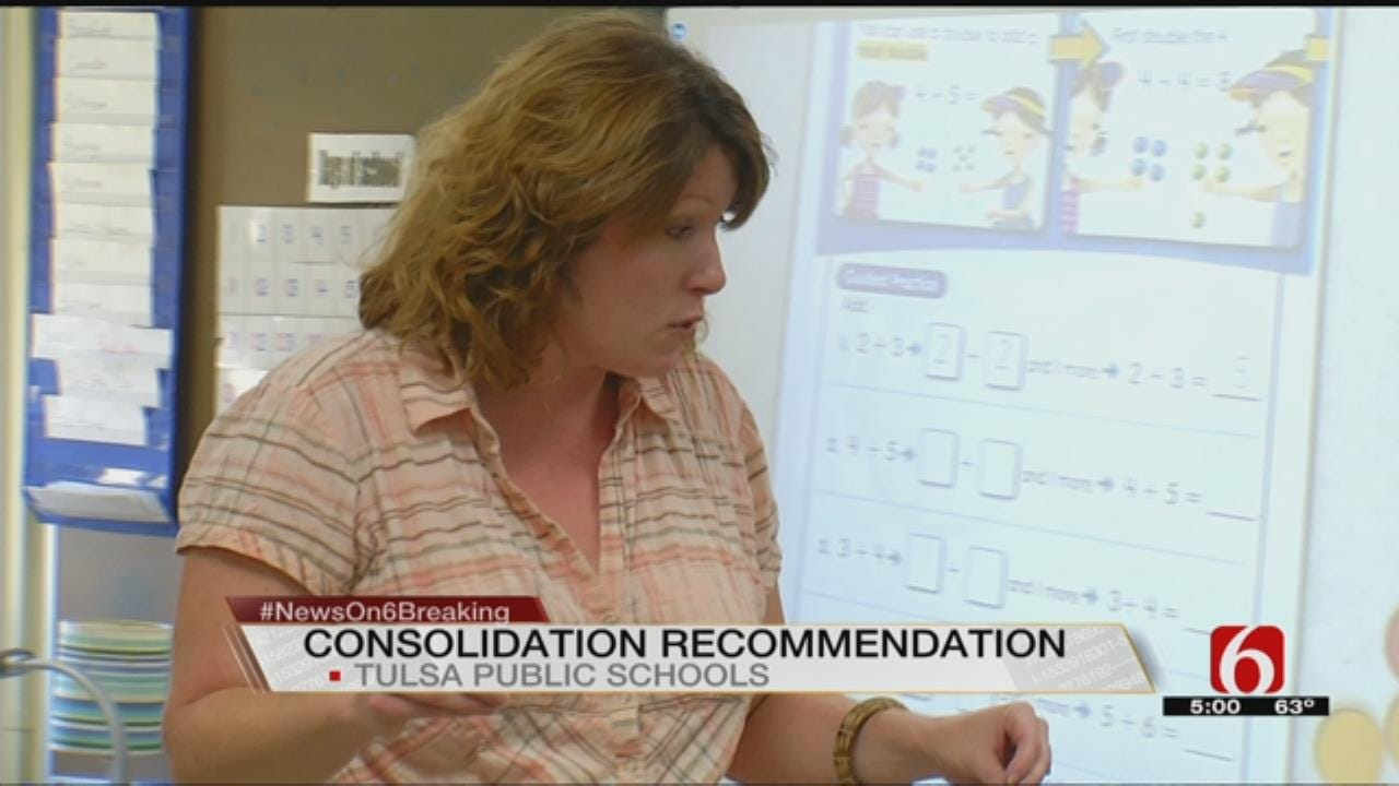 TPS Superintendent To Recommend Consolidating Elementary Schools