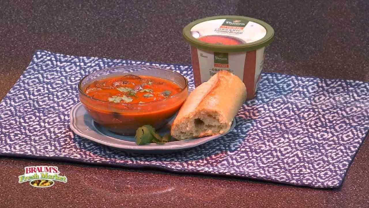 Thai Tomato Coconut Soup