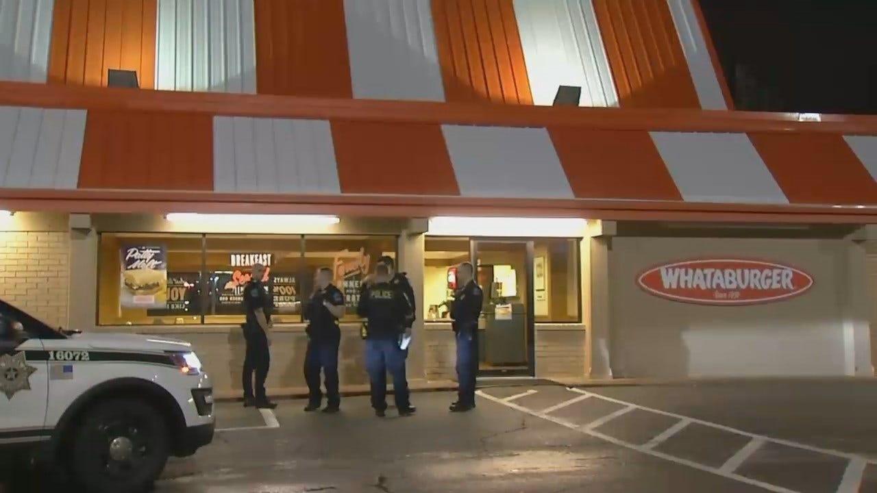 WEB EXTRA: Armed Man Robs Tulsa Whataburger