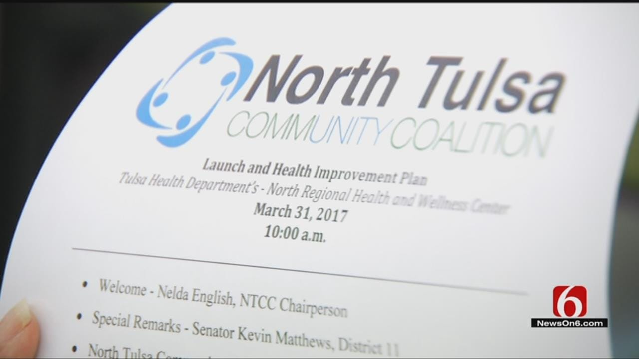 Coalition Launches New Plan To Improve Health In North Tulsa