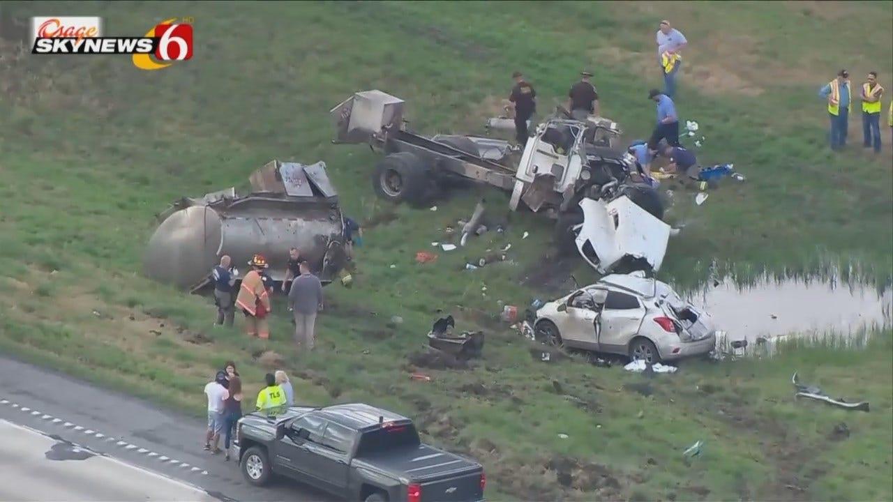 Osage SkyNews 6 HD: Fatal Rogers County Crash