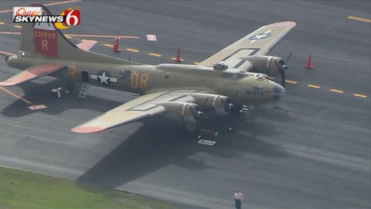 Osage SkyNews 6 HD: Four World War II Airplanes Visit Tulsa