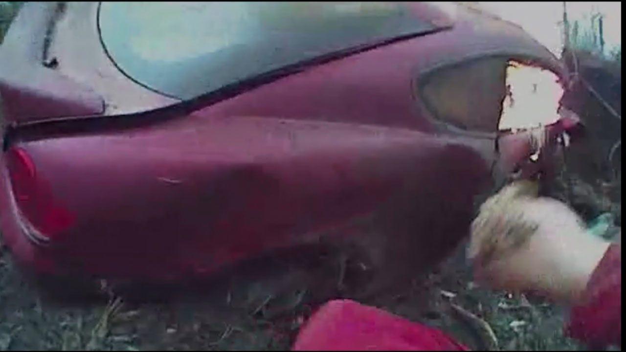 WATCH: Bodycam Of Washington County Deputy Rescuing Crash Victim