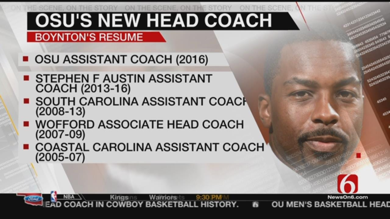 Mike Boynton Named Cowboy Basketball Head Coach