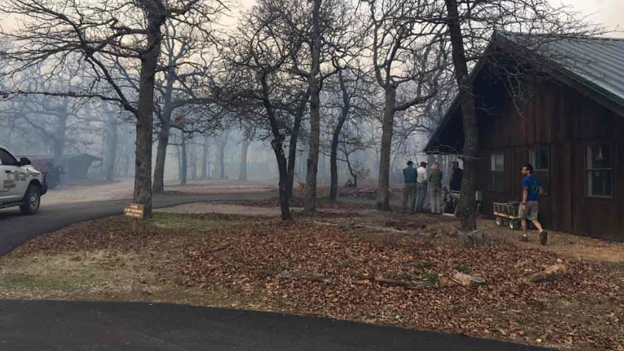Washington County Wildfire Threatening Sutton Avian Research Center