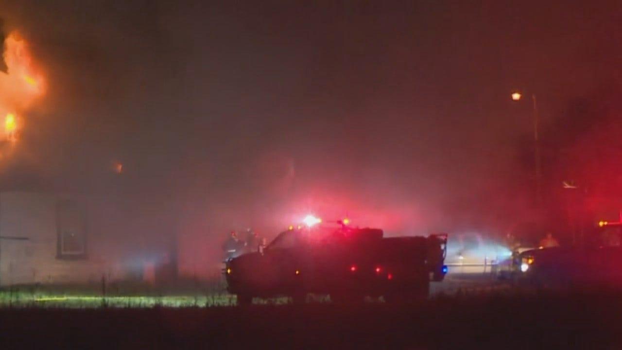 WEB EXTRA: Storm Tracker Von Castor Video Of Keefton House Fire