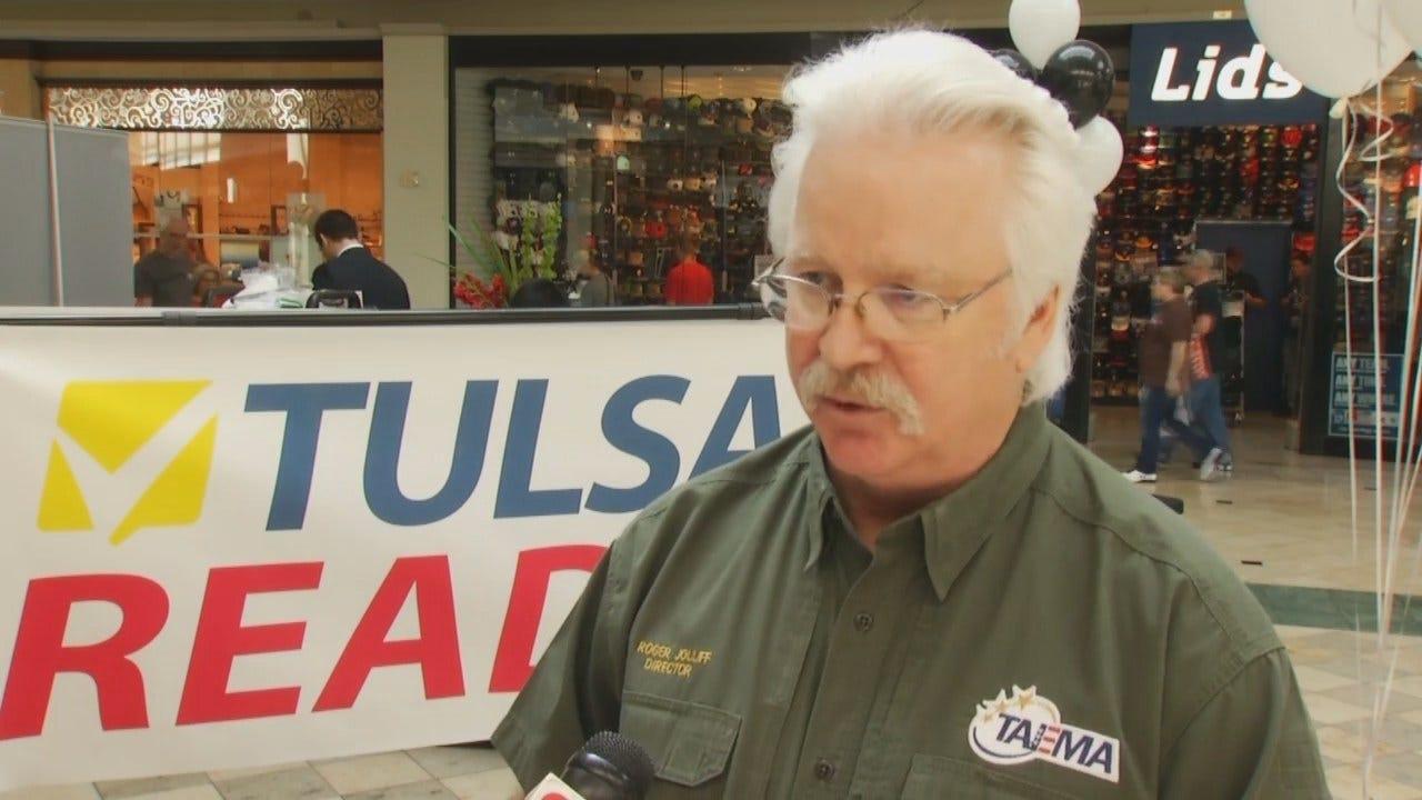 WEB EXTRA: Tulsa Area Emergency Management Agency's Roger Jolliff Talks About 'Tulsa Ready'
