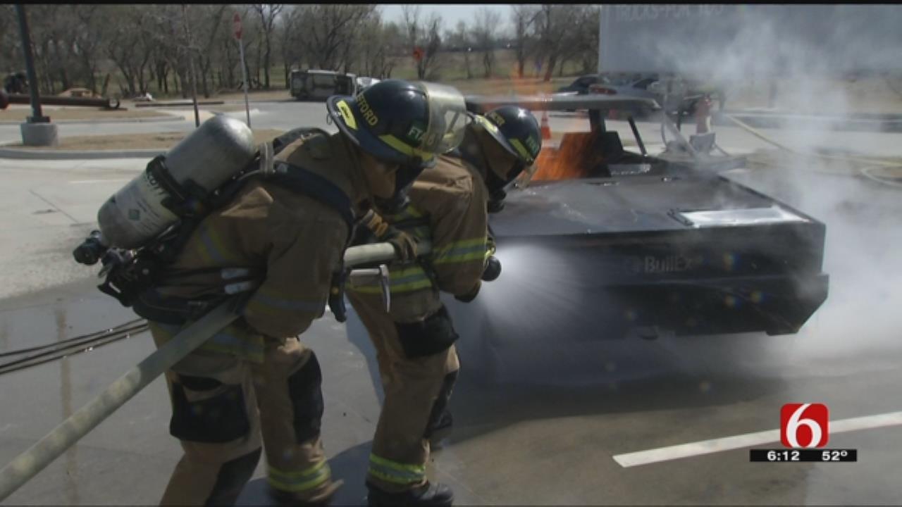 Tulsa Fire Cadets Go Through 24-Hour Training