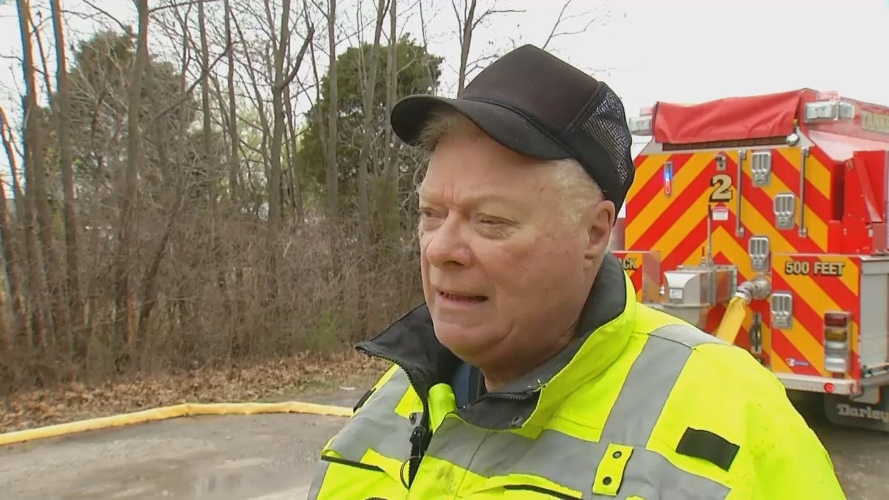 WEB EXTRA: Limestone Fire Chief Carl Smith Talks About Encountering Snakes, Rats At House Fire