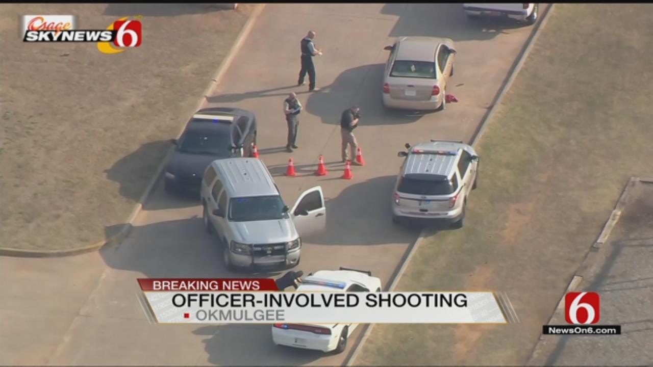 Okmulgee County Police Pursuit Ends With Person Shot
