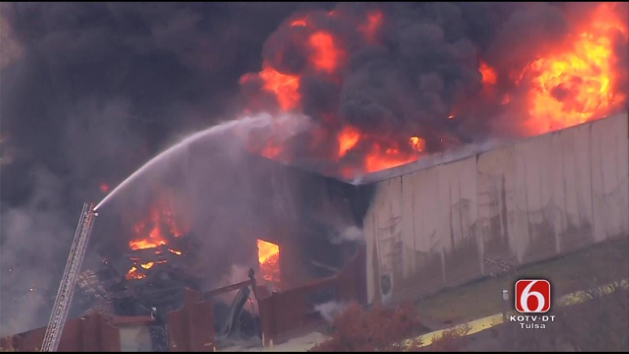 Will Kavanagh: Fire Raging In Chemical Plant Explosion