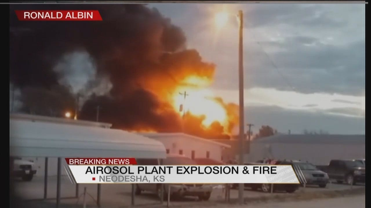 WATCH NOW: Plant Explodes In Neodesha, Kansas