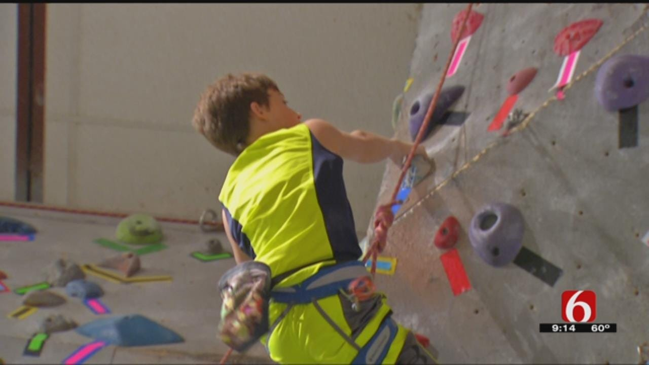 New Gym Owner Brings Love Of Rock Climbing To Tulsa