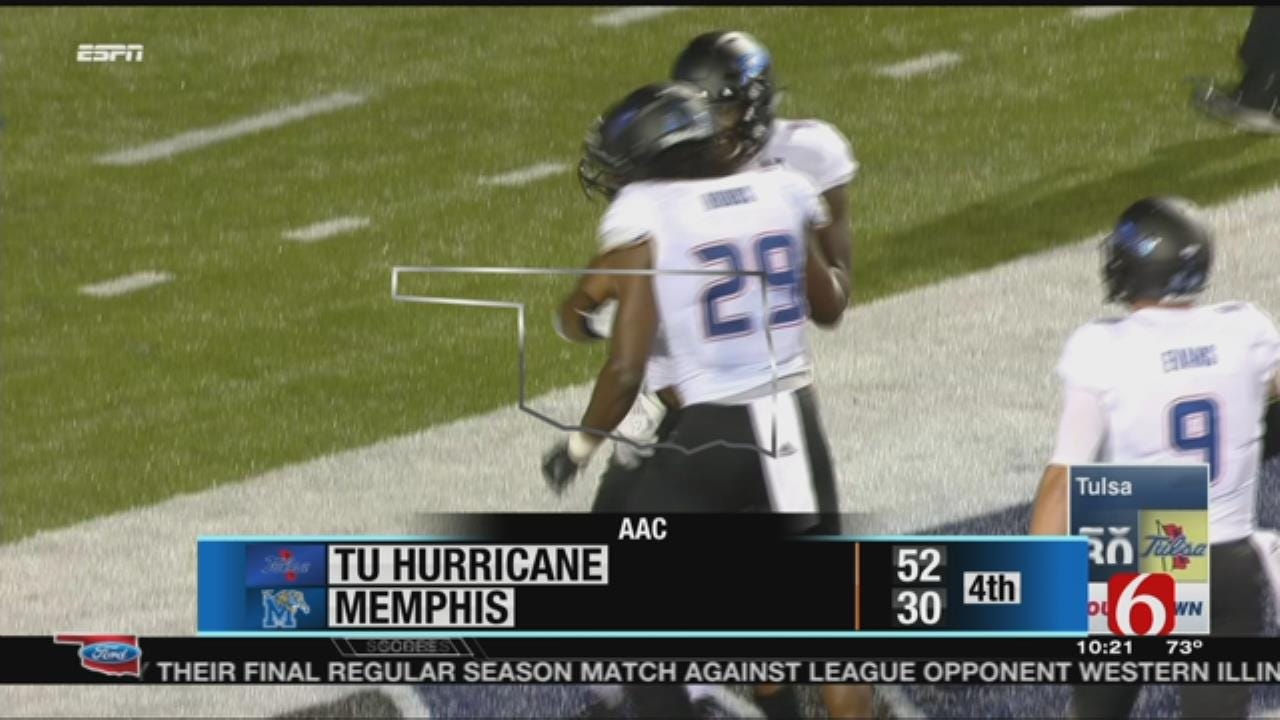 TU Becomes Bowl Eligible Behind Flanders' Record-Setting Performance