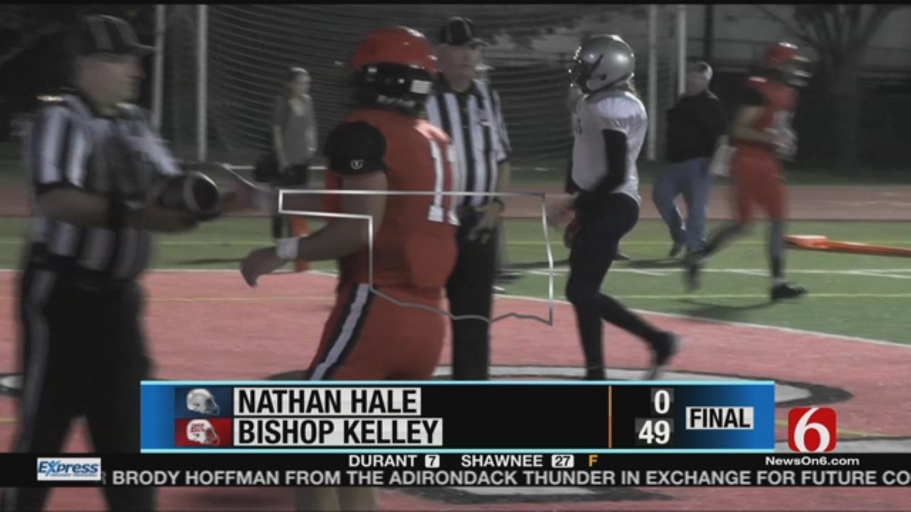 Bishop Kelley Crushes Hale In Week 9