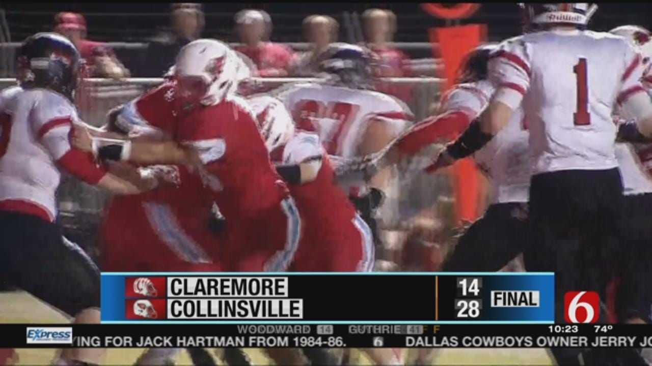 Collinsville Claims Week 9 Victory Over Claremore