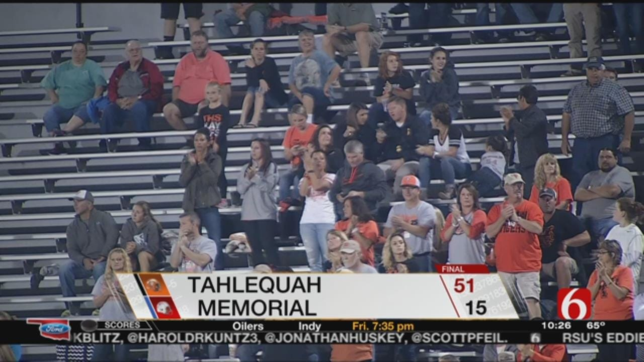 Memorial Suffers Thursday Night Loss To Tahlequah