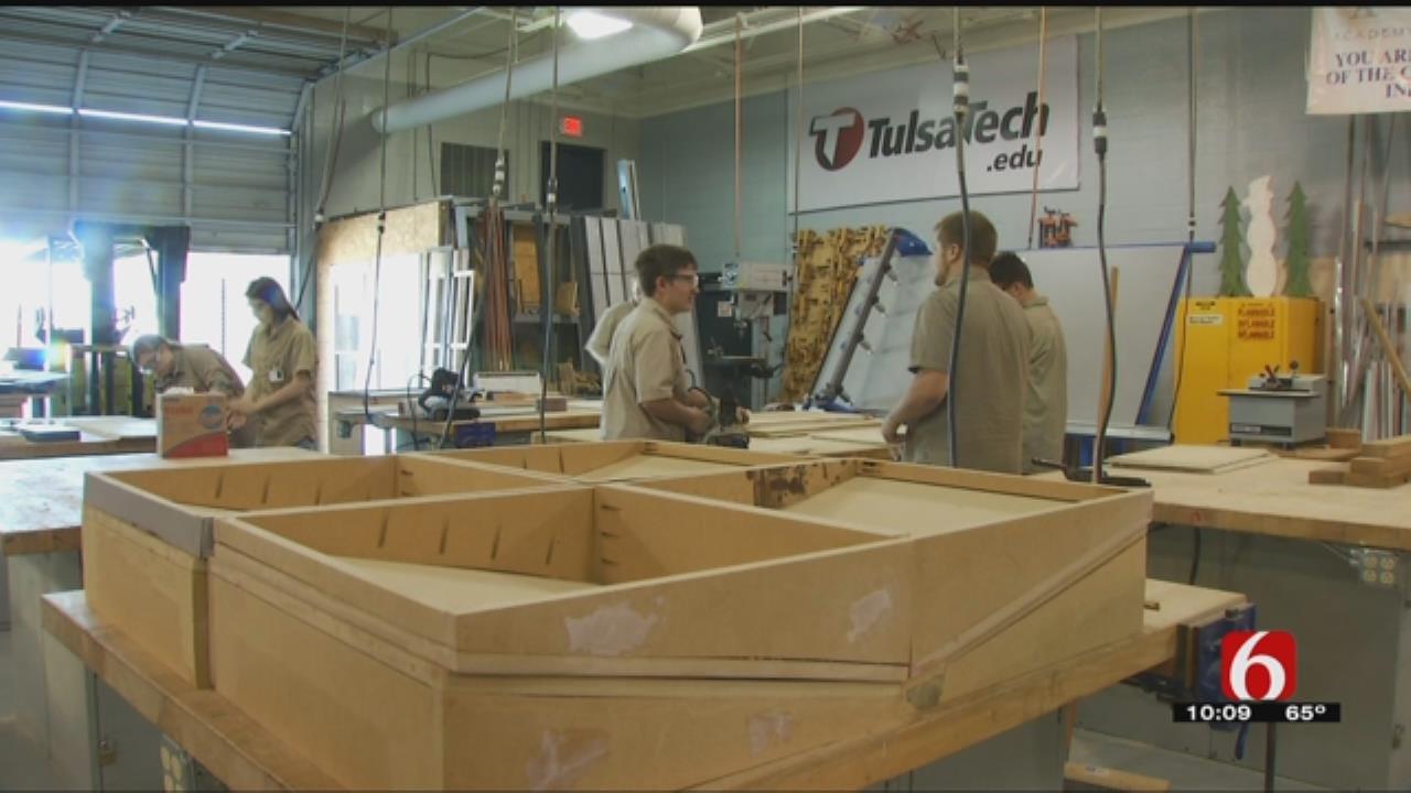 Tulsa Tech Battles Oklahoma's Construction Skills Gap