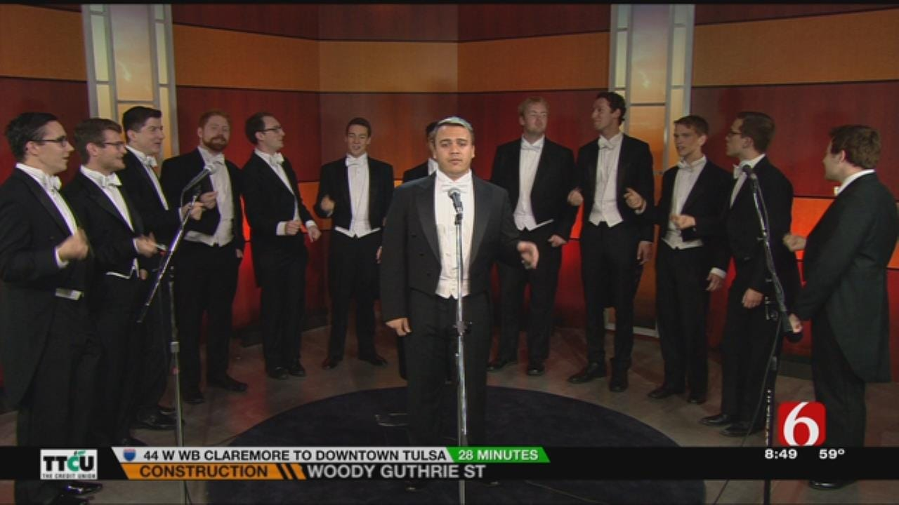 Yale Whiffenpoofs Perform On 6 In The Morning
