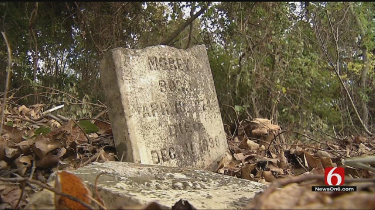 Wagoner County Residents Upset After Finding Headstones Knocked Over