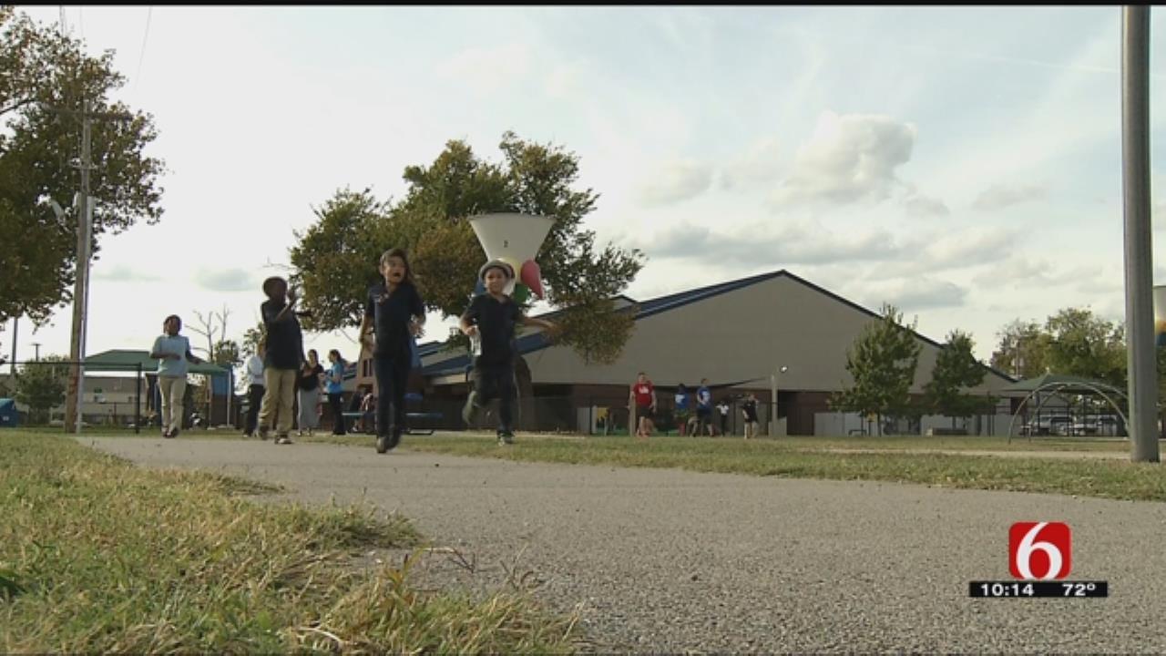 Tulsa School Kids Take Part In 'Go Run Club'