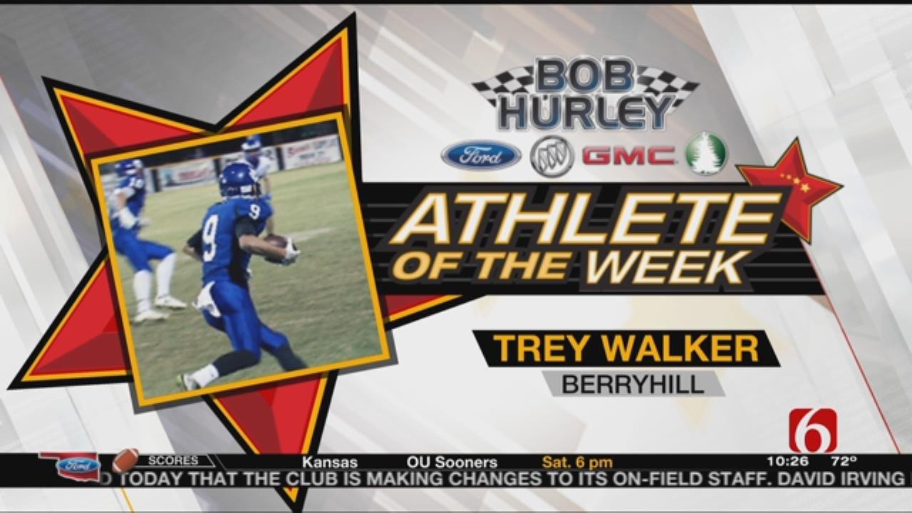 Week 8 Athlete Of The Week: Berryhill's Trey Walker