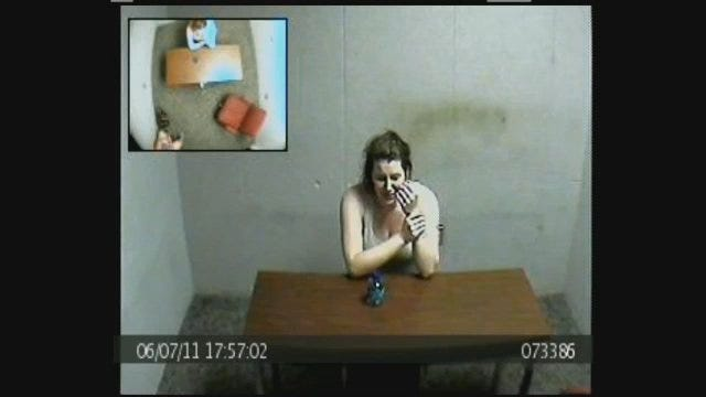 WEB EXTRA: Amber Hilberling In Interrogation Room, Part 5