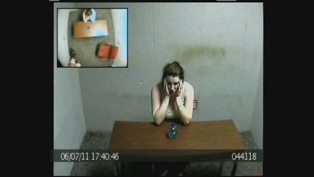 WEB EXTRA: Amber Hilberling In Interrogation Room, Part 3