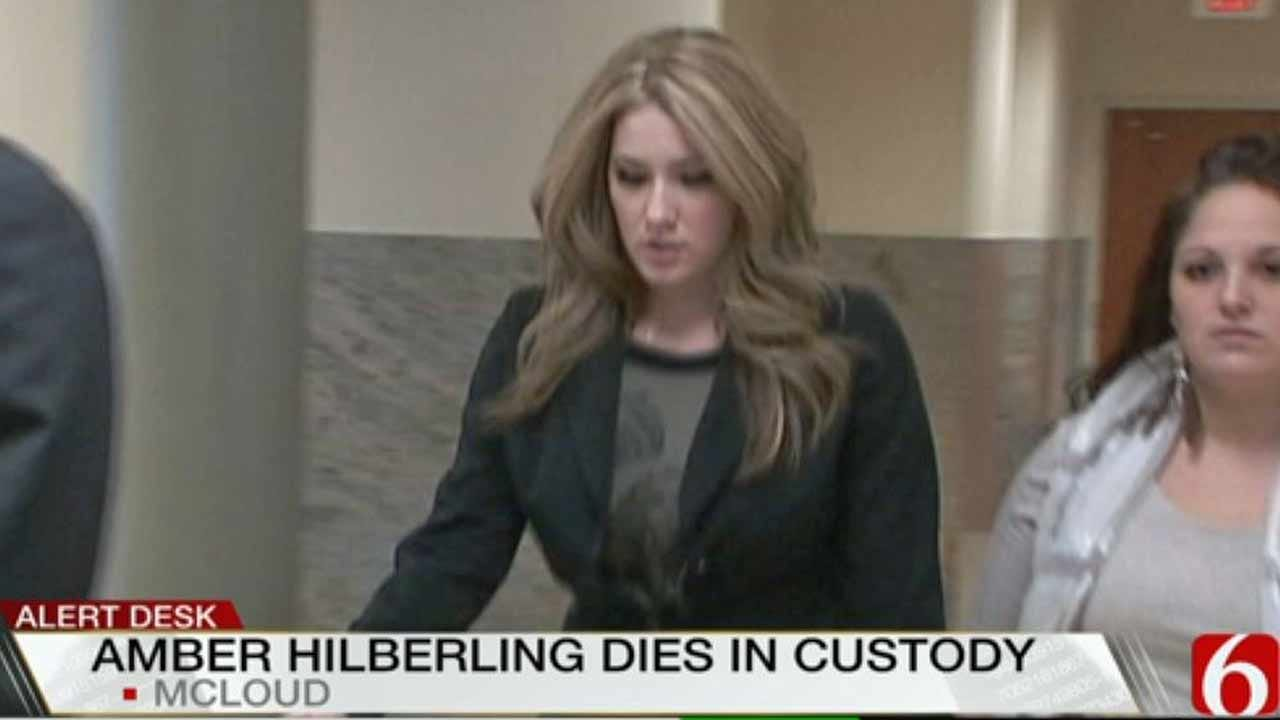 Convicted Tulsa Murderer Amber Hilberling Found Dead In Cell