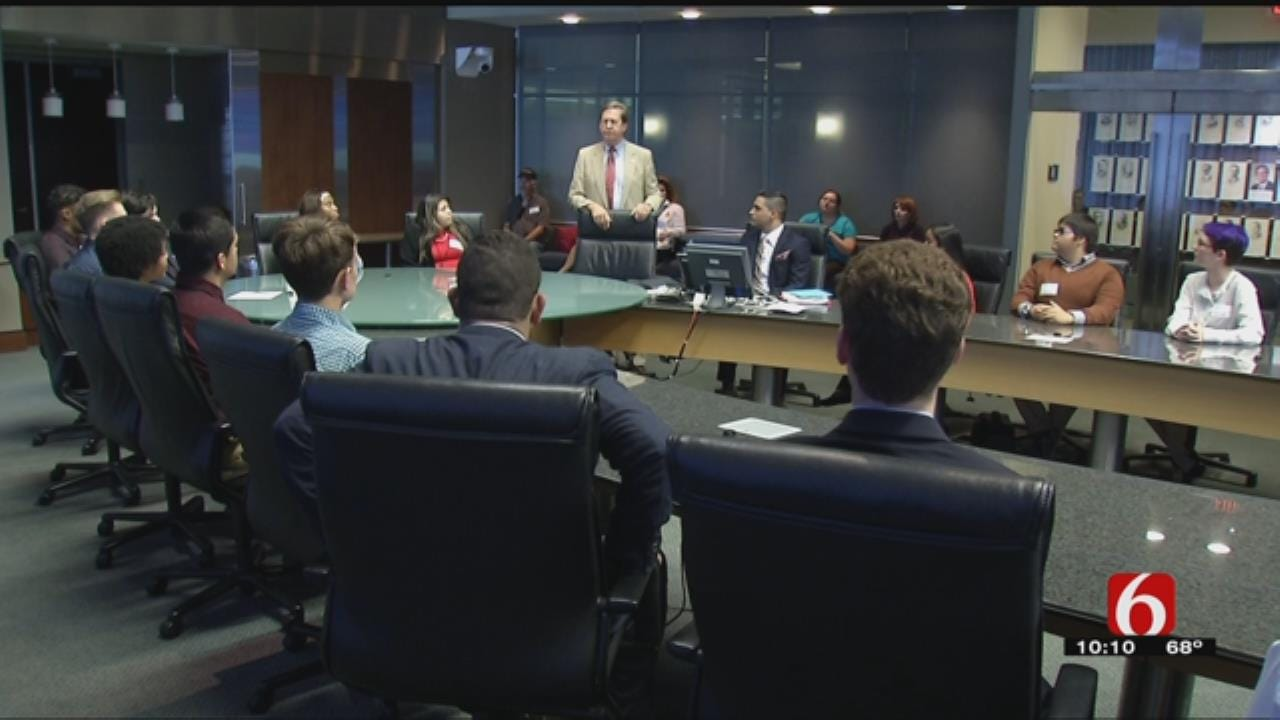 Tulsa High Schoolers Get Inside Look At Local Government