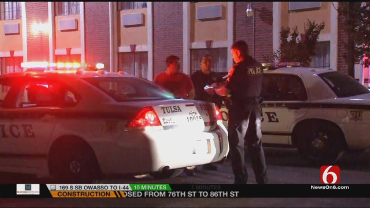 EXCLUSIVE VIDEO: Tulsa Police Chase Ends In Arrest