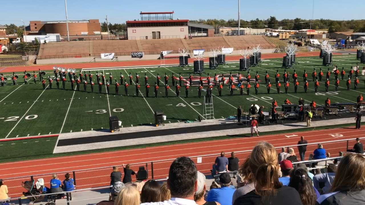 WEB EXTRA: Coweta Tiger Pride Performs 'Lost In The Woods'