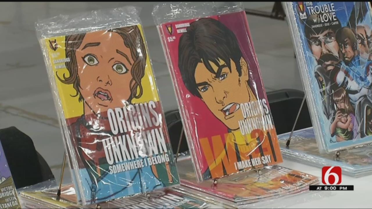 Comic Con Opens With Big Names In Downtown Tulsa