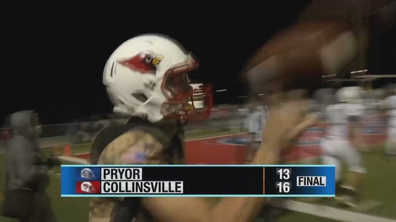 Collinsville Snags Home Win Over Pryor