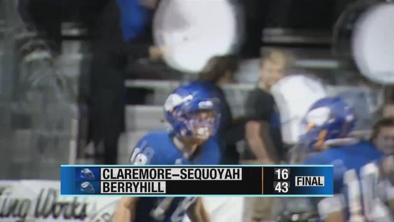 Claremore-Sequoyah Drops To Berryhill In Week 8