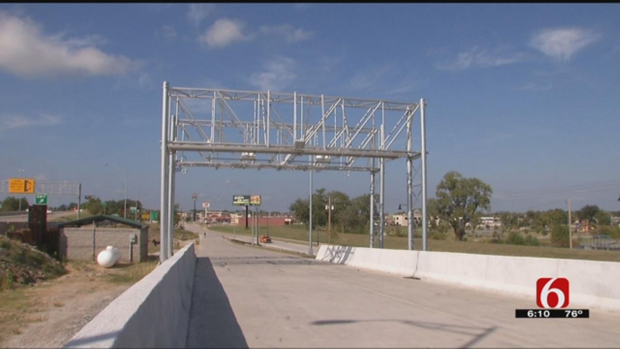 Oklahoma Turnpike Authority To Test All-Electronic Toll In Jenks