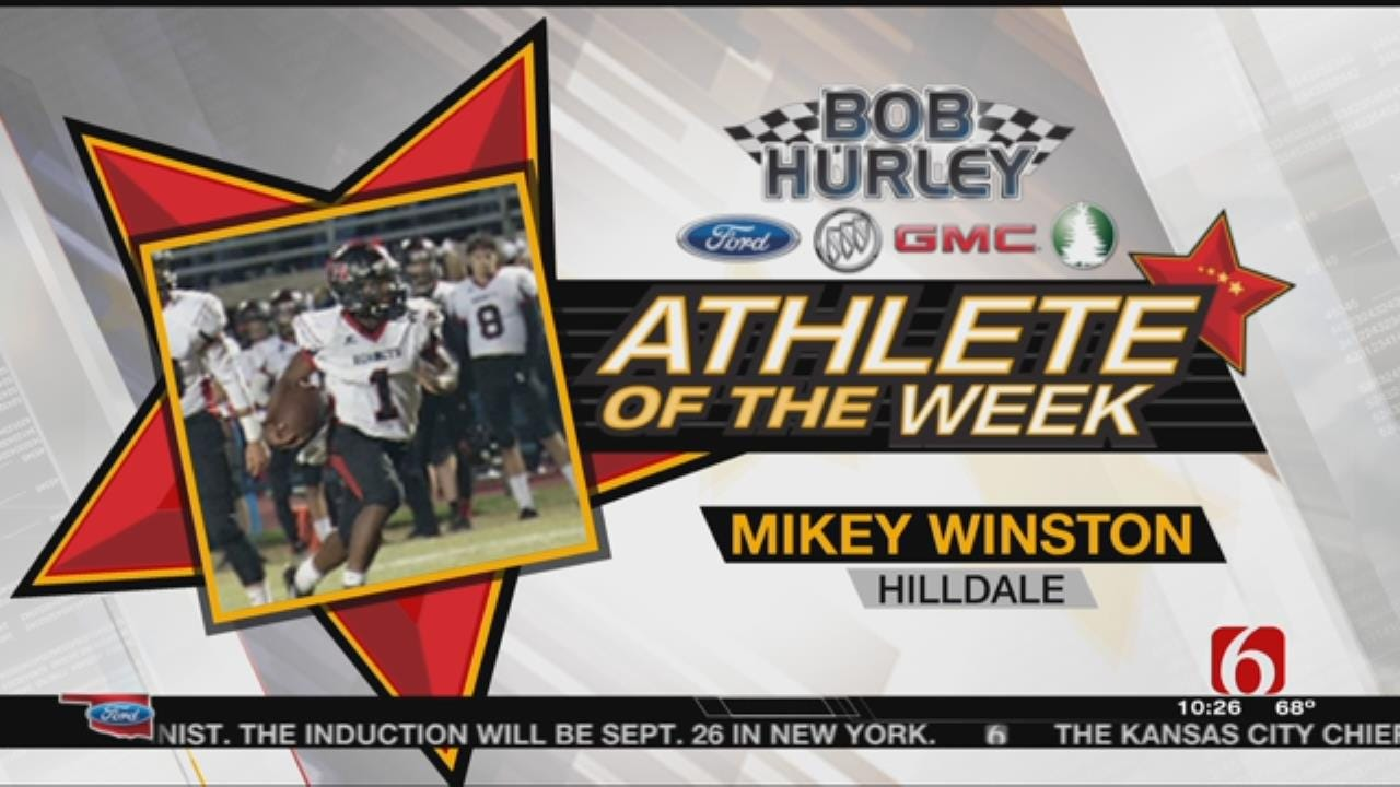 Week 7 Athlete Of The Week: Hilldale's Mikey Winston