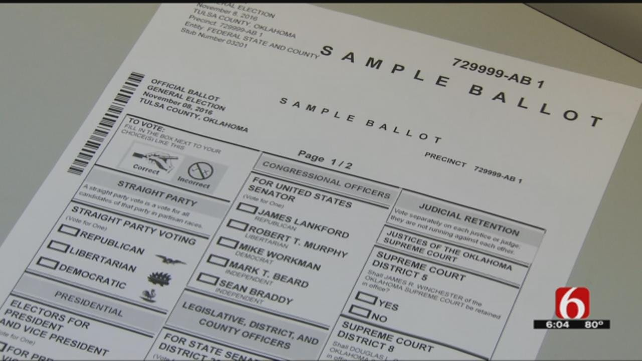 Officials: Oklahoma's Election System One Of Nation's Most Secure