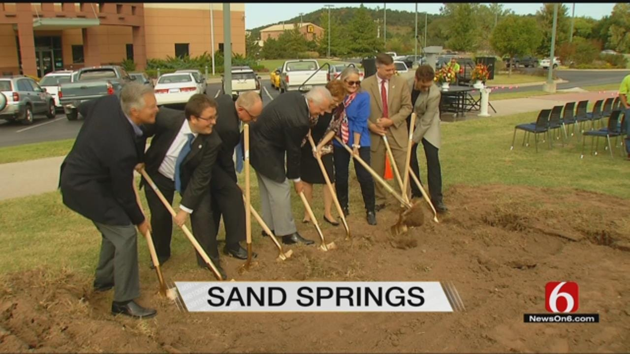 Leaders Break Ground On Largest Park Renovation Ever In Sand Springs