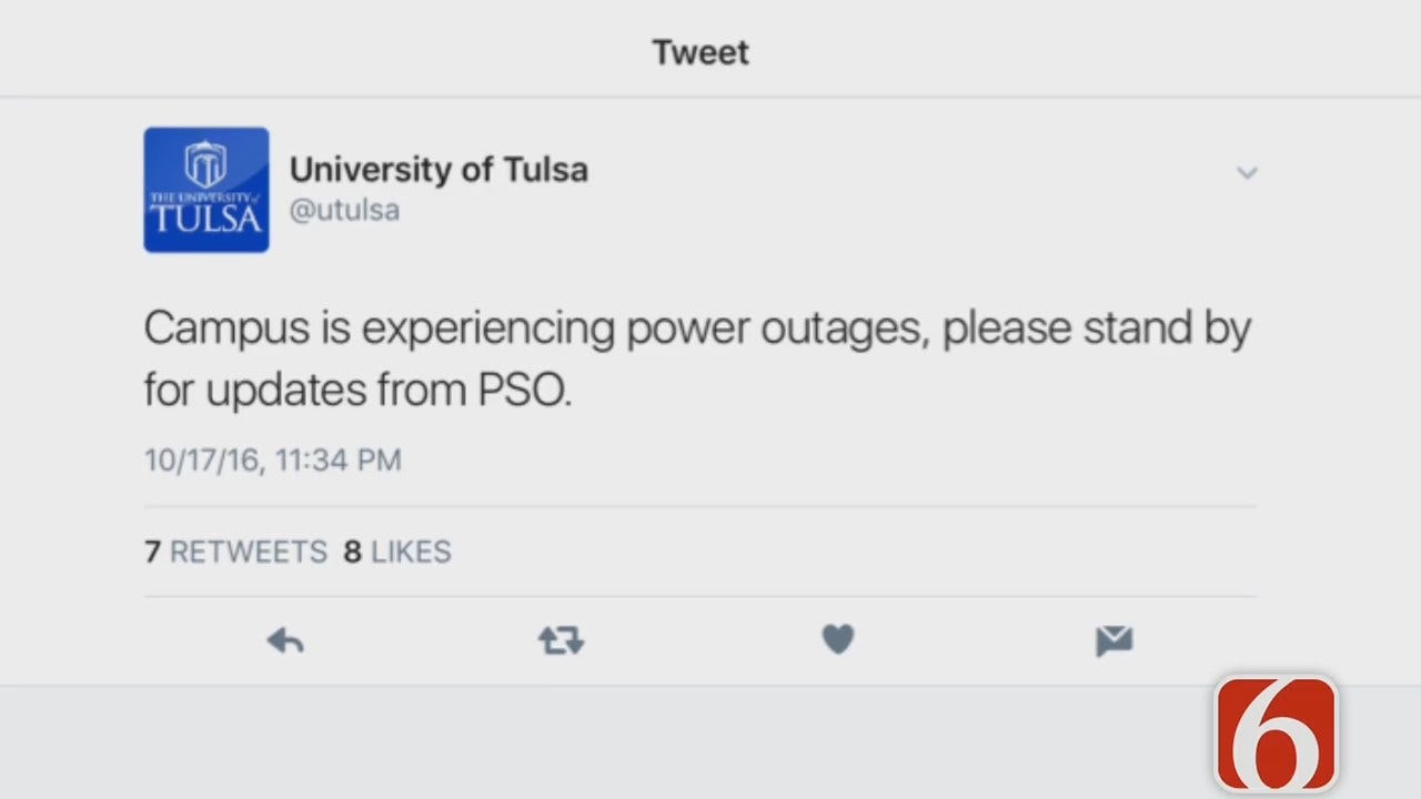 Dave Davis Reports PSO Restores Power After Outage
