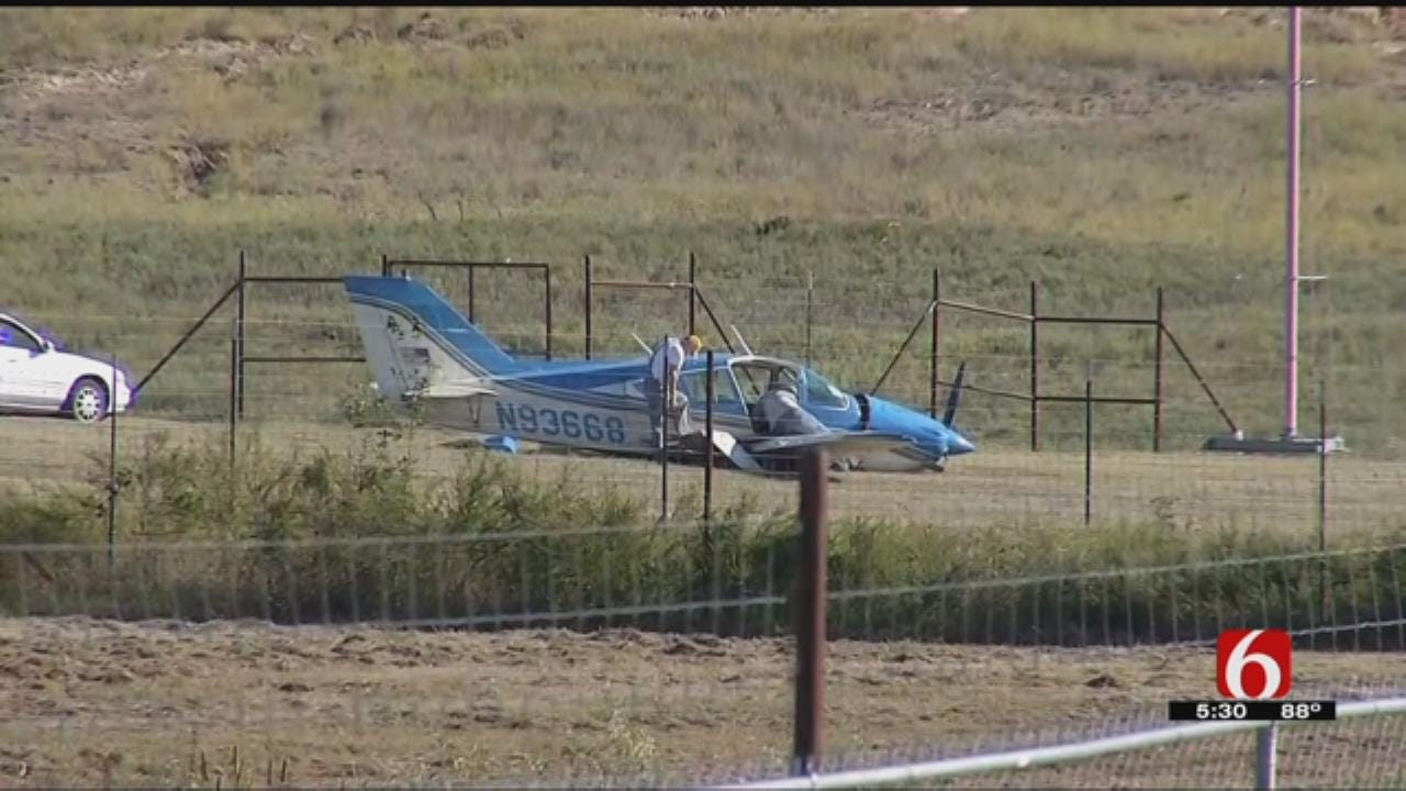Two Injured In Crash At McAlester Regional Airport