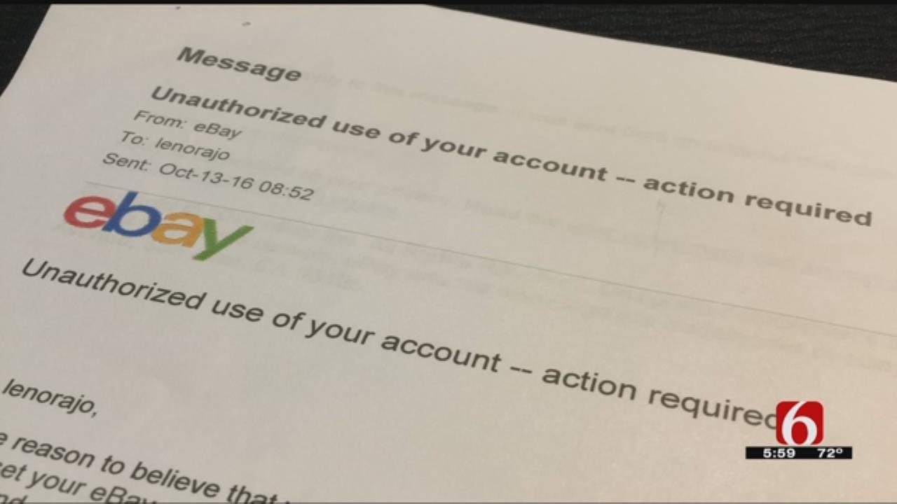 Tulsa Police Seeing Increase In eBay Hackings