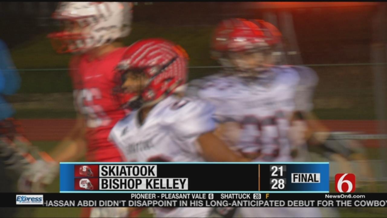 Bishop Kelley Snags Win Over Skiatook In Week 7