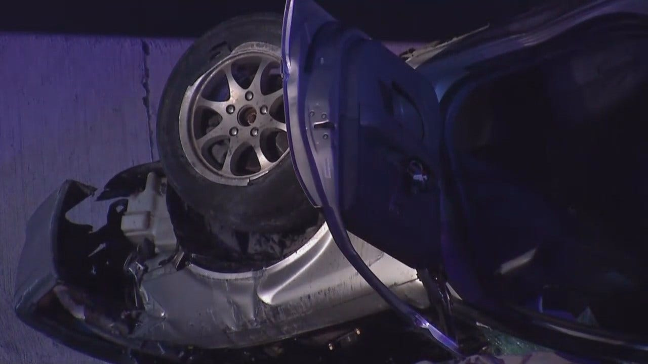 Joseph Holloway Says One Dead After Chase, Crash On Highway 169