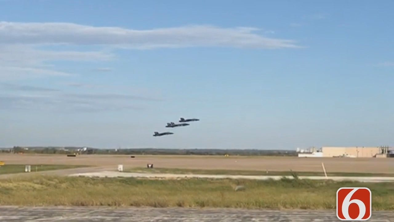Blue Angels Take Off From Tulsa, By Brandyn Baker
